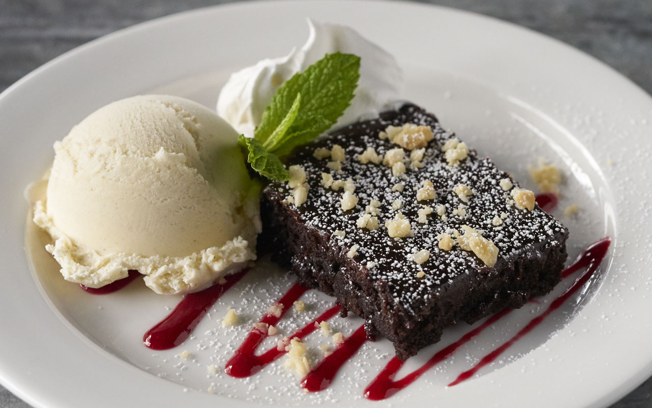 Macadamia Nut Brownie