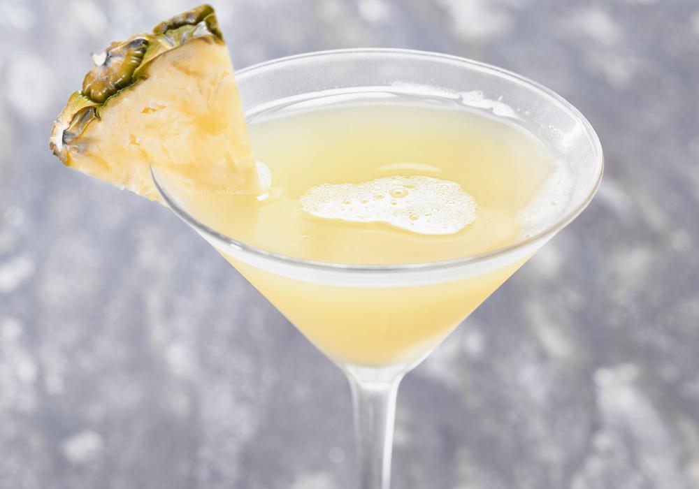 Crushed Pineapple Martini
